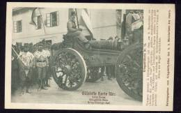 OFFIZIELE KARTE FÜR : ROTES KREUZ - RED CROSS - No. 15    MONTENEGRO - ARMY - BILECA - Croix-Rouge