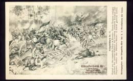 OFFIZIELE KARTE FÜR : ROTES KREUZ - RED CROSS - No. 11    RUSSISCHE FAHNE IN MSZANA - Rotes Kreuz