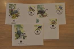 154 ++ WWF FDC TOKELAU DUIF PIGEON TAUBEN BIRDS VOGELS - Tokelau