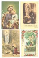 RELIGION - Lot De 8  Cartes Postales - Images Pieuses (hon) - Christendom