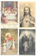 RELIGION - Lot De 8  Cartes Postales -Images Pieuses  (hon) 2 - Christendom
