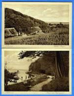 Dänemark, 2 Karten, Aabenraa, Aubek - Bugt, Strand Ved Jorgensgaard - Dänemark