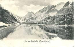 N°28273 -cpa Lac De Comballe -Courmayeur- - Italy