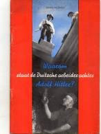 Livre Propagande Ww 2 Staat De Duische Arbeiderachter   1941  Bruxelles - 1939-45