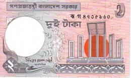BANGLADESH   2 Taka  Emission De 2007   ***** BILLET  NEUF ***** - Bangladesch
