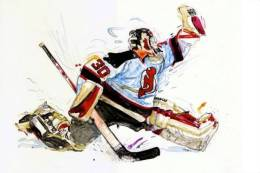Ice Hockey  S-t-a-m-p-ed Card 1275-5 - Sports D'hiver