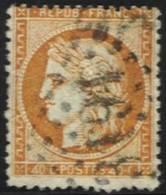 40 C. Orange Oblitéré Avec 4 Retouchés RARE - 1870 Siege Of Paris