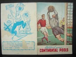 CPF.41-60. A3. Offert Par Continental Pools. Schilde. 1949 - Calendriers