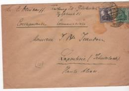 Envellope Freibourg In Breisgau Allemagne  Pour Lapoutroie  Schnierlach France  Tampon 40