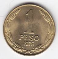@Y@   Chili  1 Peso 1978  UNC     (C192) - Chili