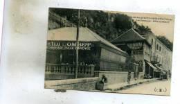 Route Des Grands-Goulets  26  Les  Barraques--et Hotel  COMBET Et Rue Animée - France