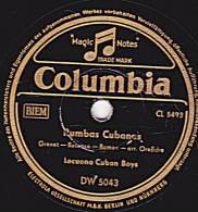 78 Tours - Columbia DW 5043 - Lecuona Cuban Boys - Rumbas Cubanas - Puchunguita - 78 Rpm - Schellackplatten