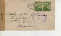 CARTA CIRCULADA  CUBA   CENSEXAMINED BY EXAMINADA POR MIGUEL DIAZ  RADIOMECANICO AÑO 1945   CENSURA    CENSORSHIP OHL - Sin Clasificación