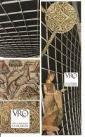 2 MARQUE- PAGES  ESPAGNOL - VILLA ROMANA LA OLMEDA - AU VERSO CALENDRIER 2013 - Marque-Pages