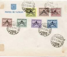 Siege Vacant 20 Du 2 1939 Premier Jour - Lettres & Documents