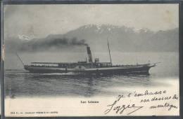 - CPA SUISSE - Le Helvétie Sur Le Lac Léman - GE Ginevra