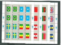 Nations Unies (New York) 390/ 405 En 4 Feuillets ** - Stamps