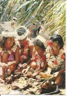 TAHITI  Préparation Des Plats Pour Un TAMARAA - Tahiti