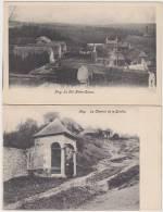 16728g Huy - Série 10 Cartes LE VAL - CHEMIN De La SARTHE - PONT De CHEMIN De FER - HOTEL De VILLE - La COLLEGIALE... - Hoei