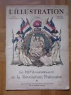L´Illustration - Numéro 5028 - 15 Juillet 1939 - Révolution Française, Insignes Militaires,... - Livres, BD, Revues