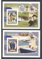CONGO 0412 4 BLOCS DE  GAULLE Dent. - De Gaulle (Generale)