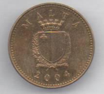 MALTA 1 CENT  2004 - Malta