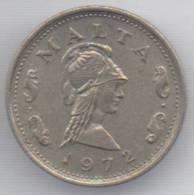MALTA 2 CENTS  1972 - Malta
