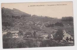 Brizon  Vue Générale  Et Hotel  Du Jalouvre - Autres Communes