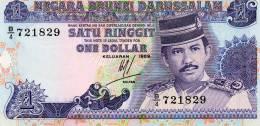 P. BRUNEI : 1 Ringitt 1989 (unc) - Brunei