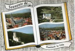 CPSM 67  DAMBACH LA VILLE SOUVENIR DE  1963 - Dambach-la-ville