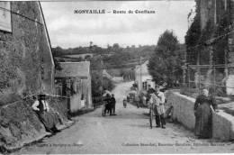 MONTAILLE - Route De Conflans - Animée - France