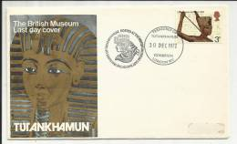 GRANDE BRETAGNE , GREAT BRITAIN , Enveloppe Premier Jour , 30.12.1972 , N° YT 657 - FDC