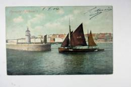 UK:   Picture Postcard 1904 London To Amsterdam, Ramsgate Lighthouse