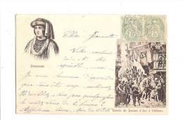JEANNE D´ARC. - Entrée De J. D'Arc à Orléans. Dunois. - Personnages Historiques