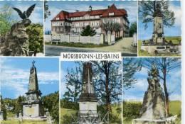 CPSM 67 MORSBRONN LES BAINS MULTI VUES 1967   Grand Format - Autres Communes