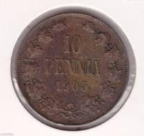 @Y@      Finland 10 Pennia 1905   (2083) - Finlande