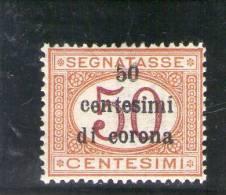 TRENTO E TRIESTE 1919 SEGNATASSE * - Trento & Trieste