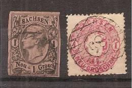 Duitsland   Oude Duitse Staten  Saxony  Y/T  1 + 15    (0) - Saxony