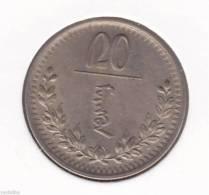 @Y@      Mongolia 20 Mongo 1937    (2092) - Mongolie