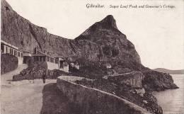 Gibraltar , 00-10s ; Sugar Loaf Peak & Governor's Cottage - Gibraltar