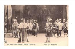 JEANNE D´ARC. - Au Théatre De La Passion (Nancy). Le Drame De J. D´Arc. Charles VII Et .... (Impr. Réunies) - Personnages Historiques