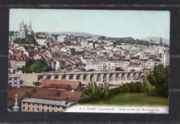 34776    Svizzera,    Lausanne  -  Vue  Prise  De  Montbenon,  NV - VD Vaud