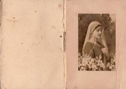 Petit Calendrier  Almanach De Poche/Vierge Marie /1942   CAL110 - Calendars
