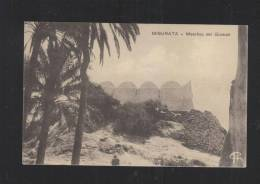 Cartolina Misurata Moschea Del Giamah Posta Militare 1912 - Libyen