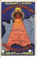 MECLE NARBONNE BOULET LE CROISSANT REMPLACE LE SOLEIL 1931 - Advertising