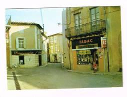 OLONZAC-MINERVOIS  ( Hérault  )  Place Du Marché - Francia