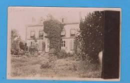 Carte Photo à Identifier (Maison ) - Cartes Postales