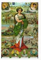 [DC1448] CARTOLINEA - POSTER DELLA SERIE CARTOLINE DEL RISORGIMENTO - Storia