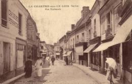 72 La Chartre Sur Le Loir. Rue Nationale - Sonstige Gemeinden