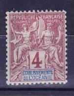 Océanie N°3 Neuf Charniere - Océanie (Établissement De L') (1892-1958)